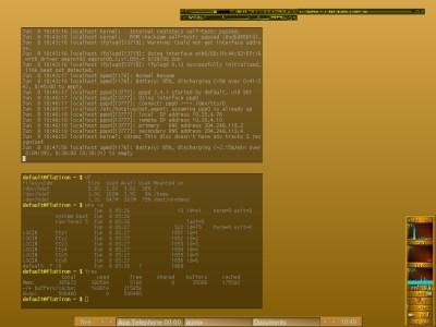 fluxbox wallpaper. Fluxbox in geek mode ;-)