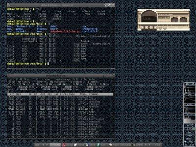 Mandrakelinux 10.1, running Fluxbox