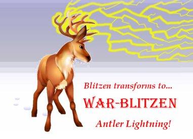 war-blitzen antler lightning