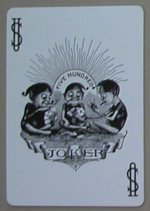 six handed 500 playing cards joker