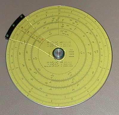 pickett circular slide rule