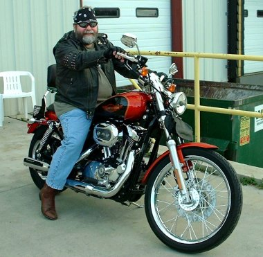 me on a harley 2