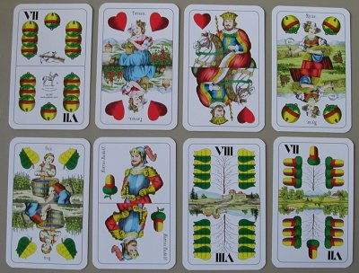 regular hungarian cards
