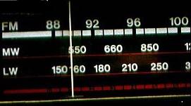 longwave radio dial
