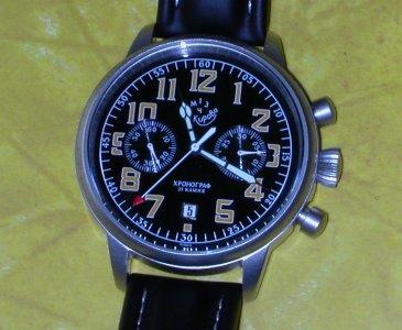russian chronograph