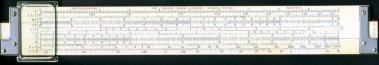 slide rule obverse